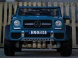 Masinuta electrica Mercedes G650 MAYBACH 4WD cu Mp4 PREMIUM #Albastru