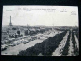 Carte postala Paris, Panorama