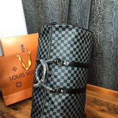 ~NEW  2019~ Troller/geanta de voiaj Louis Vuitton Eole Damier Graphite troler