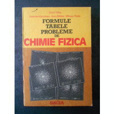 GAVRIL NISC - FORMULE, TABELE PROBLEME DE CHIMIE FIZICA