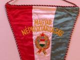 Fanion brodat de protocol - Republica Populară Ungară (Magyar Népköztársaság)