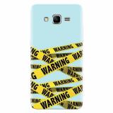Husa silicon pentru Samsung Grand Prime, Warning