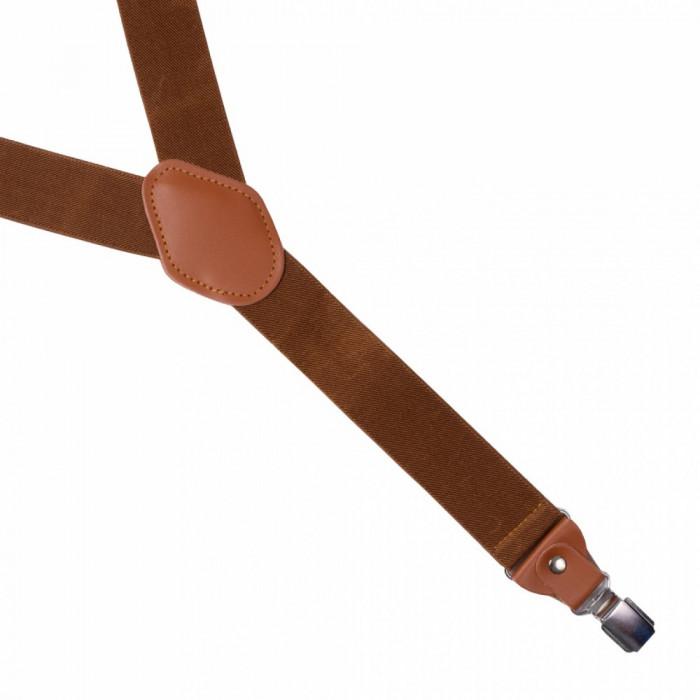 Bretele medii elastice maro Aira