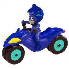Motocicleta Eroi in Pijama Moon Rover cu Figuria Cat Boy