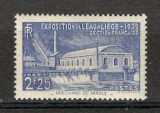 "Franta.1939 Expozitia ""Apa"" Liege  MF.105, Nestampilat"