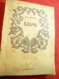 A.S.Puskin - Basme - Ed. Cartea Rusa 1953 -trad.A.Maniu ,ilustratii A.Demian