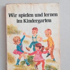 Ne jucam si invatam la gradinita (in limba germana)
