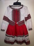 Costum popular / traditional brodat (pentru fete)