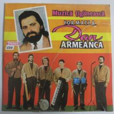 Rar! Vinil mare 12''(31 cm) formatia Dan Armeanca-Muzica tiganeasca,Eurostar1992