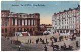 #2420- Romania, Bucuresti, carte postala circulata 1924: Pta. Sarindar, animat, Fotografie