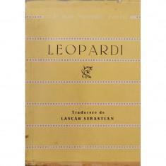 Versuri - Leopardi