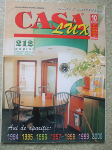REVISTA CASA LUX NR.10/2000 NUMAR ANIVERSAR