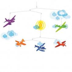 Decoratii mobile camera copilului avioane Djeco