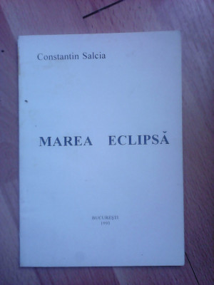 Marea eclipsa - CONSTANTIN SALCIA foto