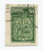 România, LP 73h/1922, Încoronarea regelui Ferdinand la Alba Iulia, ned., oblit.