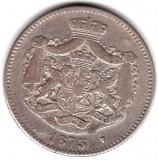 * Moneda 2 lei 1873, Argint
