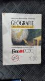 GEOGRAFIE CLASA A X A - GRIGORE POSEA , NICU AUR ,EDITURA LICE ALL 2000