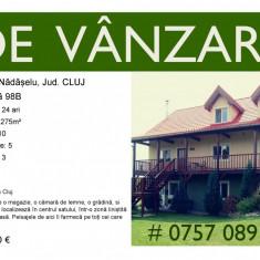 Casă/Teren de vânzare în Sat. Nadaselu, Jud. Cluj