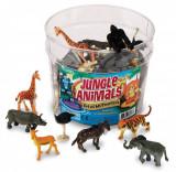 Set pentru sortat - Animalute din jungla, Learning Resources