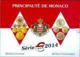"""MONACO 2014 – set monetarie """"1cent – 2 euro"""" BU / folder, Europa"""