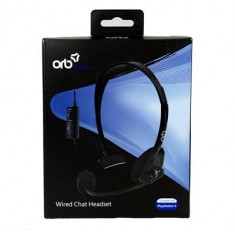 Casti Orb Wired Chat Headset Ps4 foto