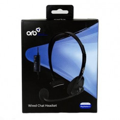 Casti Orb Wired Chat Headset Ps4
