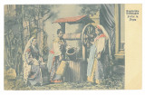 1163 - ARGES, Ethnic women, Romania - old postcard, CENSOR - used - 1918