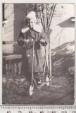 Bnk foto - Copil cu trotineta, Alb-Negru, Portrete, Romania de la 1950