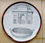Cumpara ieftin Farfurie Piero Fornaseti -Porta Garibaldi din Milano.Vintage.