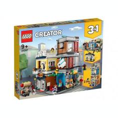 LEGO Creator - Magazin de animale si cafenea 31097