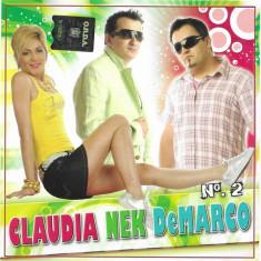 CD Claudia - Nek - DeMarco – N°. 2, original, manele