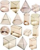 Set didactic 15 corpuri geometrice, Miniland
