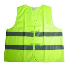 Vesta reflectorizanta Carpoint verde marime XL cu benzi reflectorizante Kft Auto