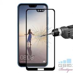 Folie Sticla Huawei P20 Lite / Nova 3e Acoperire Completa Neagra