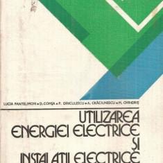Utilizarea energiei electrice si instalatii electrice - probleme
