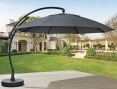 Umbrela de soare Easy Sun III -Aluminiu / Tesatura - gri antracit foto