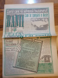 Ziarul banii si viata 24-30 ianuarie 1994 - anul 1,nr,1-prima aparitie