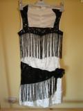Costum carnaval serbare rochie dans pentru adulti marime S, Din imagine