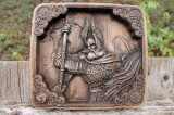 Odin sculptura lemn fag