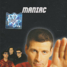 Vand caseta audio Sarmale Reci - Maniac, originala, raritate, Casete audio, a&a records romania