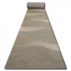Traversa sisal Floorlux model 20212 coffe si mais, 80 cm