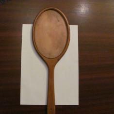 GE - Rama veche lemn oglinda de mana