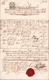 Extras matricula bisericeasca 1862 sigiliu parohia greco-catolica Sannicolau