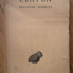 Dialogues Suspects - Platon ,308268