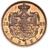 ROMANIA....5 bani 1882 superb UNC......de colectie