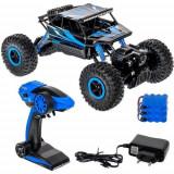 Masina cu telecomanda 4x4 Rock Crawler off road, 2.4 GHz, 1:18 – albastru