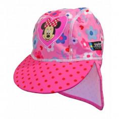 Sapca Minnie Mouse 4-8 ani protectie UV Swimpy for Your BabyKids