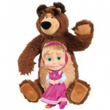 Cumpara ieftin Set Simba Masha and The Bear Masha 23 cm si ursulet 43 cm