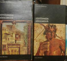 Civilizatia elenistica, Fr. Chamoux, vol. 1,2 foto