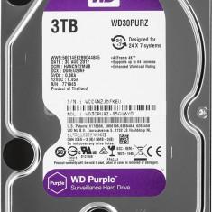 "HDD 3 TB Western Digital Purple WD30PURZ SATA-III 3.5"" - nou"
